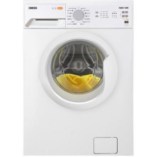 Zanussi Front Loading Digital Washing Machine, 6 KG, White - ZWF60820WW