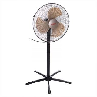MAXEL Ital-1860 Stand Fan 18 Inch without Remote Control - Black