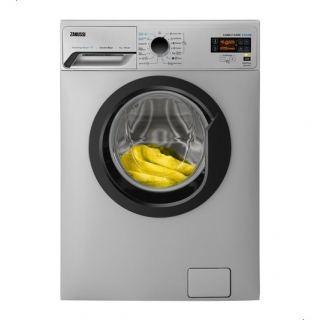 Zanussi ZWF7030SBV Front Load Automatic Washing Machine, 7 Kg - Silver