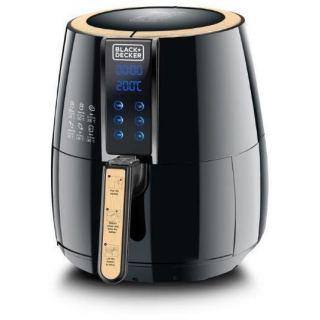Black & Decker 4 Liter Digital Air Fryer AerOfry, Black - AF400-B5