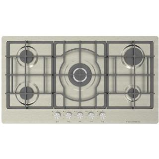 Ecomatic 92CM built in hob – CRYSTAL Front Control Panel 5 burner - S963XLX