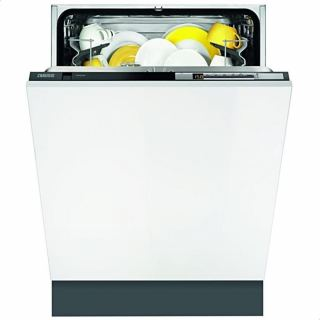 Zanussi ZDT26022FA Built-In Touch Control 7-Program Dishwasher with 13 Place Settings - White