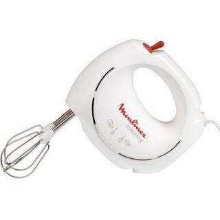 Moulinex Easy Max Hand Mixer 200 Watts, White [ABM11A30]