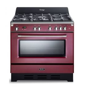 Elba  cooker 4 Gas burners + 1 triple burner-cast iron pan supports - 6 functions -safety devices 9DVAR888ICK
