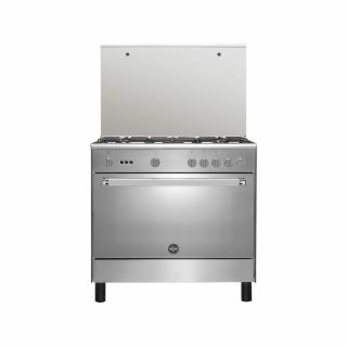 LA GERMANIA Freestanding Cooker 90 x 60 cm 5 Gas Burners In Stainless Steel Color 9C10GRB1X4AWW