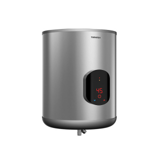 TORNADO Electric Water Heater 45 Litre With Digital Screen In Silver Color EWH-S45CSE-S