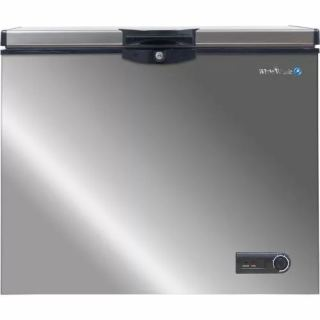 WHITE WHALE DEEP FREEZER 248 LITER STAINLESS STEEL WCF-3300 CSS