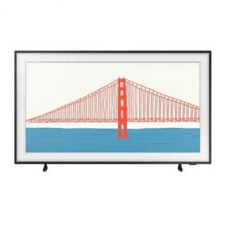 Samsung The Frame 55 Inch 4K  Smart QLED TV - 55LS03AA (2021) with 2 frames