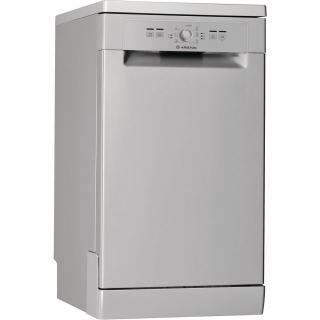 Ariston - Dish Washer silver 45cm 7 programs LSFE 1B19 S