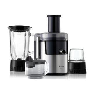Panasonic 3*1 Blender, Juice Extractor and grinder - MJ-DJ31, Silver