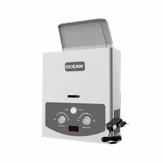 OCEAN GAS WATER HEATER 6 LITERS DIGITAL SULL SAFETY WITHOUT CHIMNEY OCBGWH6D