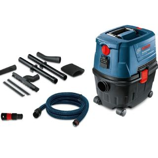 Bosch GAS 15 PS Vacuum Cleaner Professional Multicolour 1380watts 06019E5100