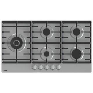 Gorenje Gas hob , 90 cm , stainless steel , 5 burners , front controls ,gas control , full safety , one,hand ignition.  GW951X