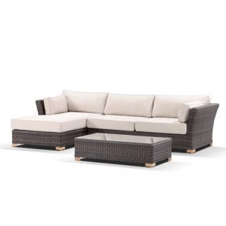 Outdoor Set consists of L-Shaped Couch & center table ODS-112