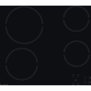 Ariston Built-In Electric Hob 60 cm Touch Ceramic Black HR 611 C A