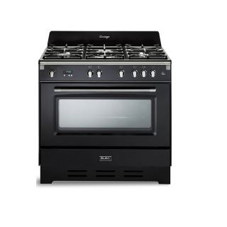 Elba 4 Gas burners + 1 triple burner-cast iron pan supports - 6 functions -safety devices 9DVBB888ICK