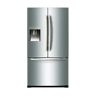Samsung Refrigerator French Door with Twin Cooling, 564L   RF67QESL/MR