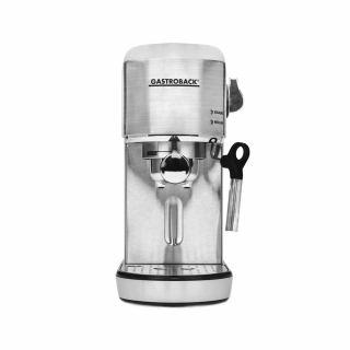 Gastroback - espresso and cappuccino maker piccolo silver