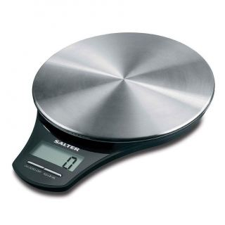 SALTER scales 5kg digital screen gray color contains a lithium battary S-1035 SSBKDR
