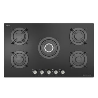Ecomatic - INOX FRAMED CRYSTAL HOB without safety S947CMX