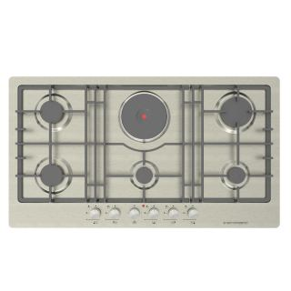 Ecomatic -  Large 92cm gas+electric hob S963XLE