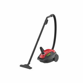 HITACHI Vacuum Cleaner 1800 Watt In Black × Red Color With Nano Titanium , Cloth Filter CV-BG18