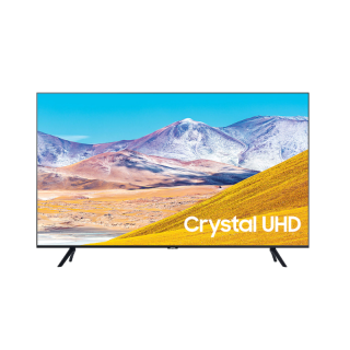 """Samsung TV 50"""" LED 4K Crystal Ultra HD Smart with Built In Receiver 50TU8000"""