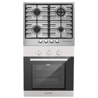 Ecomatic built in gas hob 60 cm S603X + built in gas oven 60 cm G6404T