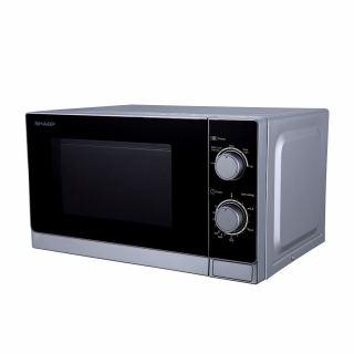 SHARP Microwave 20 Litre , 800 Watt in Silver Color R-20CR(S)