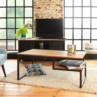 center table made of steel with electrostatic paint MU-009