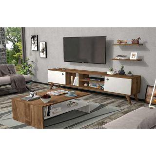 TV Unit 180cm x 40cm x 55cm+Table 100x50x40