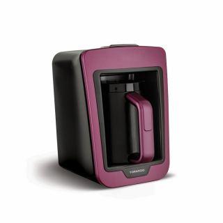 TORNADO Automatic Turkish Coffee Maker 330ml, 735 Watt in Violet x Black Color TCME-100 V