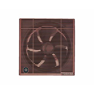 Toshiba Bathroom Ventilating Fan Size 25cm with Brown Color VRH20S1