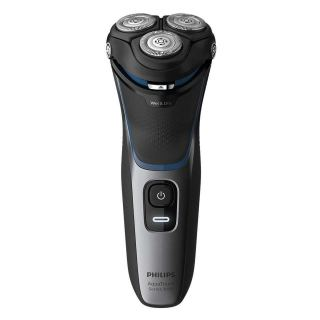 Philips Wet and Dry Electric Shaver, Black - S3122