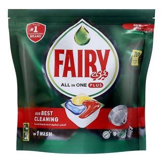 Fairy All In One Plus Dishwasher Capsules - 20 Capsules