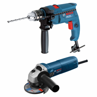 Bosch - Angle grinders  Professional GWS 6700+Impact Drill Professional GSB 1300