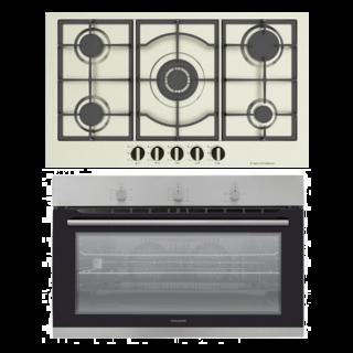 Dominox Built In Hob Gas 90 Cm + Gas oven 90 cm