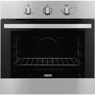Zanussi Built-In Gas Oven With gas Grill, 60 cm, Stainless Steel - ZOG10311XK