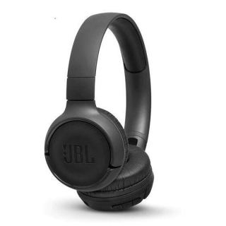 JBL Tune Wireless On-Ear Headphones with Microphone, Black- 500BT