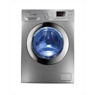 White Point Grando Front Loading Digital Washing Machine, 9 KG, Silver - WPW9121DSC