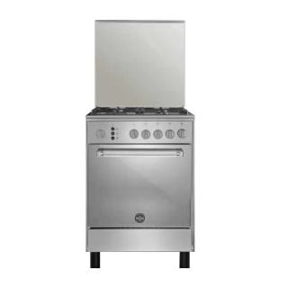 LA GERMANIA FREESTANDING COOKER 60*60 CM 4 GAS BURNERS STAINLESS STEEL 6D80GRB1X4AWW