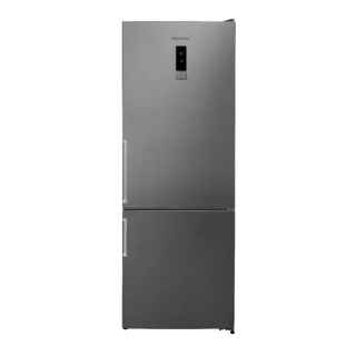 White Point Freestanding Refrigerator, No-Frost, 468 Liters, Stainless Steel- WPRC 492 DX