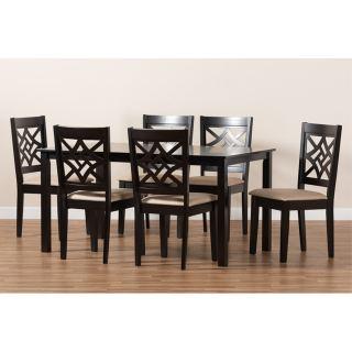 6-chair dining set [ Alena ] w737