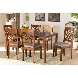 6-chair dining set [ Alena ] w738