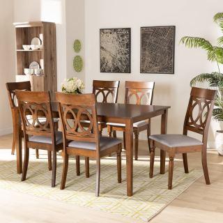 6-chair dining set [ Bennett ] w739