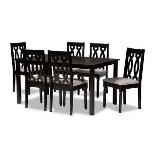 6-chair dining set [ Callie ] w741