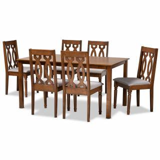 6-chair dining set [ Callie ] w742