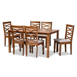6-chair dining set [ Lanier ] w743