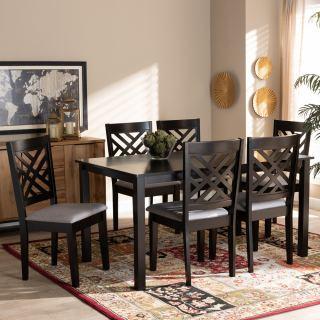 6-chair dining set [ Norah ] w744