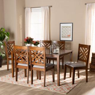 6-chair dining set [ Norah ] w745